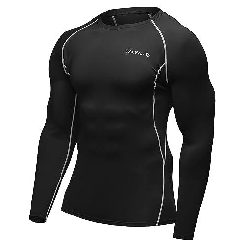 b9e2825496d9 Baleaf Men s Cool Dry Skin Fit Long Sleeve Compression Shirt