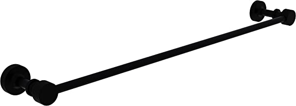 Allied Brass Matte Black Foxtrot Collection 36 Inch Towel Bar