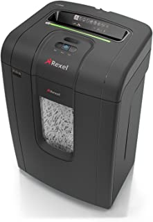 Rexel RSS2434 Mercury 24 Sheet Manual Strip Cut Shredder for Small Office Use (Up To 10 Users), Jam Free Sensor Technology...