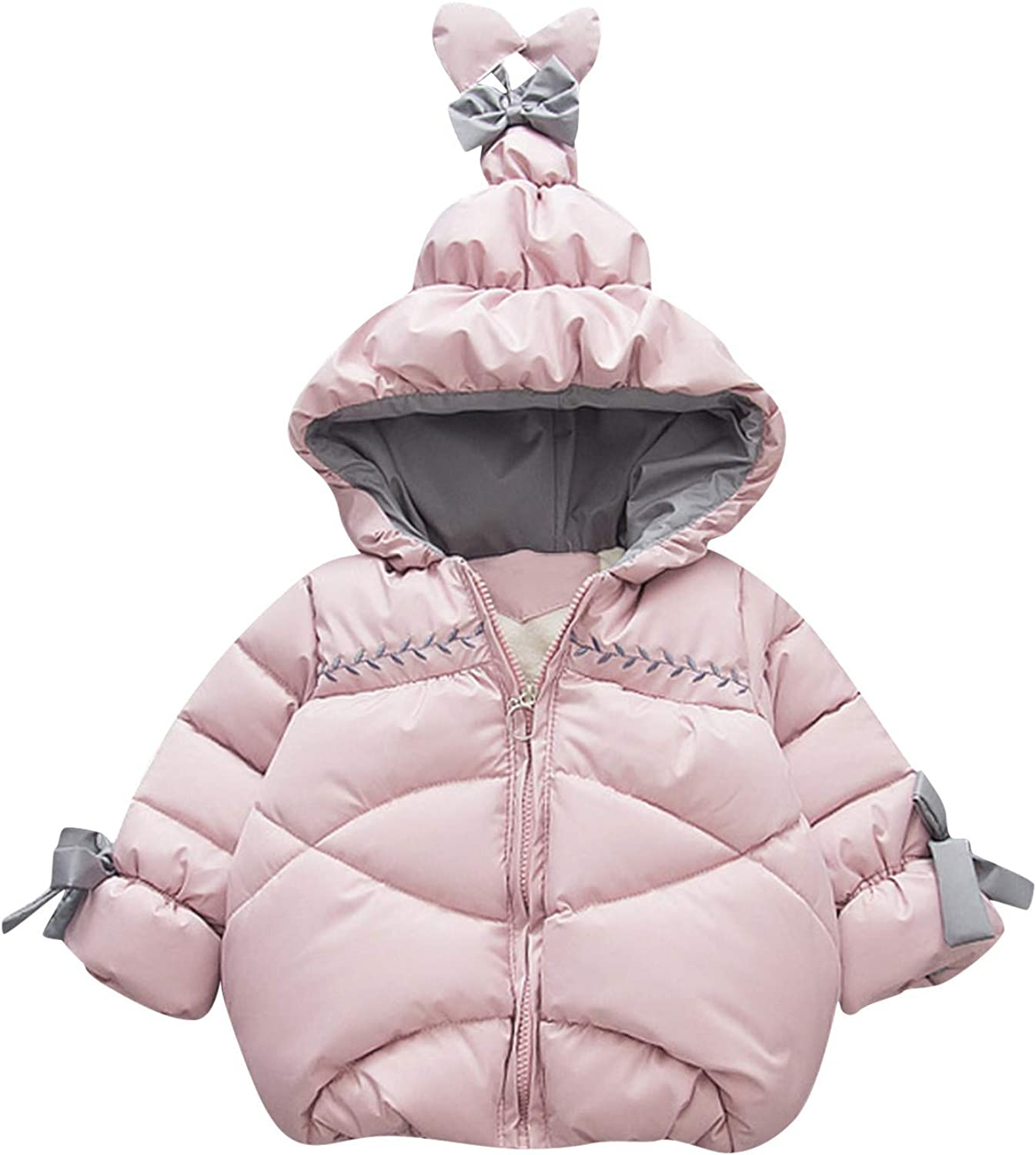 Kids Girls Boys Thick Warm Parkas 35% Baltimore Mall OFF S Hooded Casual Coat Windproof