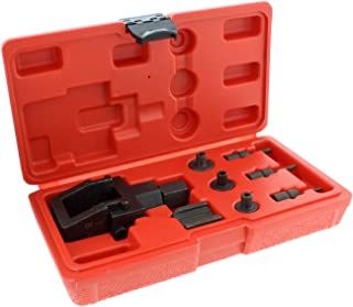 ABN Motorcycle Chain Breaker Tool and Riveting Kit – 8-Piece Heavy Duty Chain Link Removal Tool