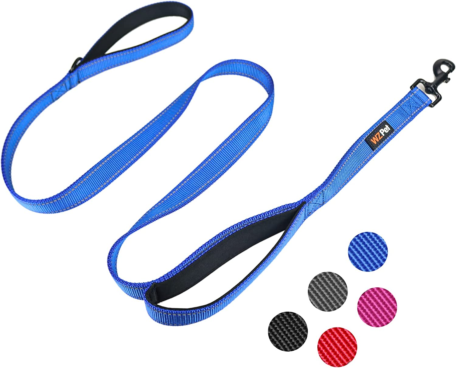 WZ Minneapolis Mall PET Dog Leash 5ft Long Padded Hand Traffic with Two Challenge the lowest price
