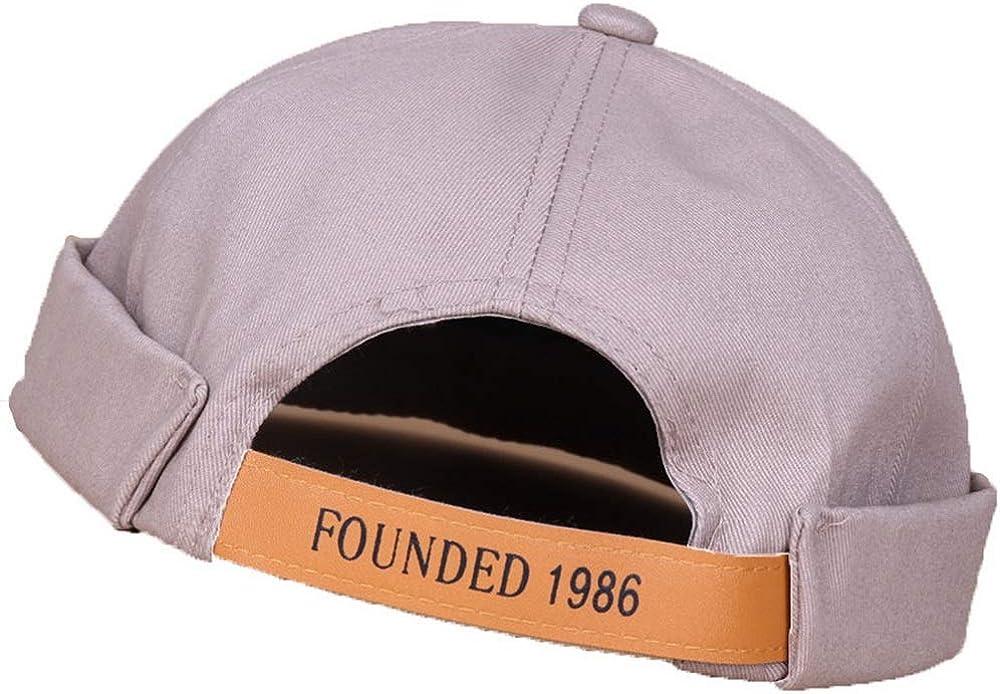 4UFiT Brimless Sailor Fisherman Vintage Leon Hat No Visor Skull