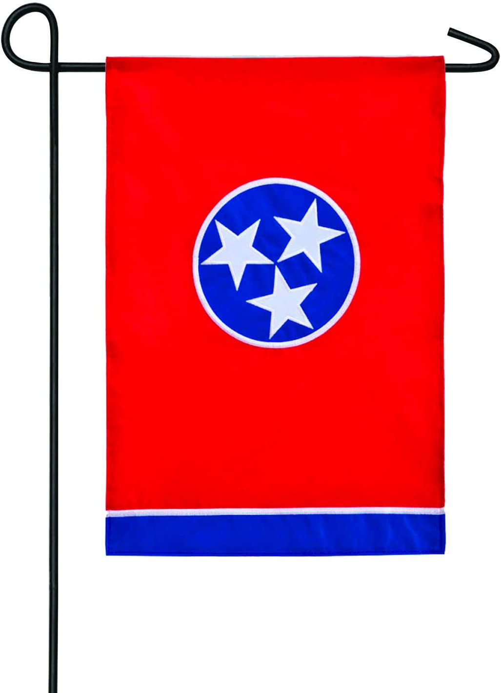 Evergreen Flag excellence Tennessee State Applique Garden Ranking TOP3 x - 12.5 18