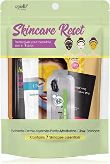 Skincare Beauty Kit | Korean Beauty | 6 Items Included | Gift set for women, Spa Gift for women (Skincare Reset Kit)