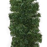 Casaria Weihnachtsgirlande I 5m I 100 LED's I In- & Outdoor I Tannengirlande Tannenzweiggirlande Weihnachtsdeko - 4