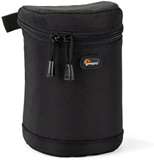 Lowepro Lens Case Specially Designed Lowepro Lens Case 9x13cm Carry Your Camera Lenses in Specially Designed, Protective Cases from Lowepro, Black (LP36303-0WW)