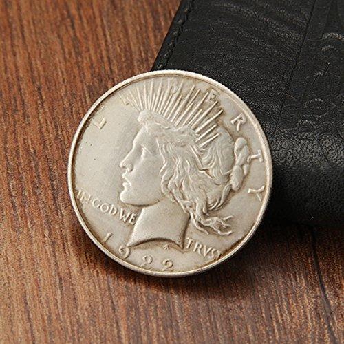 Bluelover 1922 Die Frieden Freiheit Batman Two-Face Münze Nachahmung Kopie Sammeln Währung