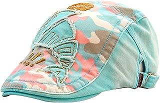 MTFS Child Camouflage Patch Cartoon Sport Newsboy Caps Flat Hats Gatsby Peaked Cap