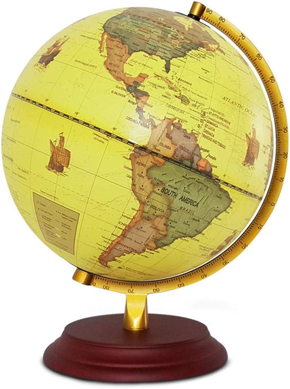 Wagsiyi Globus Unterricht global Pure Englisch 25CM Mittelschüler spezielle Lehrdekoration LED Tischlampe Desktop-Globus B07K6ZNTTX | Spielen Sie auf der ganzen Welt und verhindern Sie, dass Ihre Kinder einsam sind