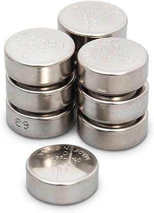 GP Batterien 76A Knopfzellen LR44 / A76 / AG13 / L1154, 1,5v (Spannung 1,5 Volt) ideal für Uhren, TAN-Generatoren, Taschenlampen und vielem mehr, 10 Stück Knopfbatterien im Multipack