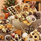 Große Festtagsmischung im Geschenkkarton - Füllgewicht 2,4 kg - Pralines, Mozartkugeln, Nuss-Ecken, Petit Fours uvm. €16,23/kg