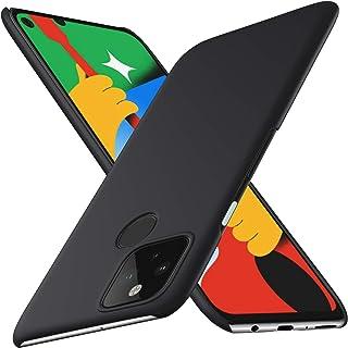 Google pixel 4a 5G ケース SHINEZONE pixel4a 5G レンズ保護 耐衝撃 指紋防止 超薄型 超耐磨 軽量 ピクセル4a 5G スマートフォンケース (Google pixel 4a 5Gケース ブラック)