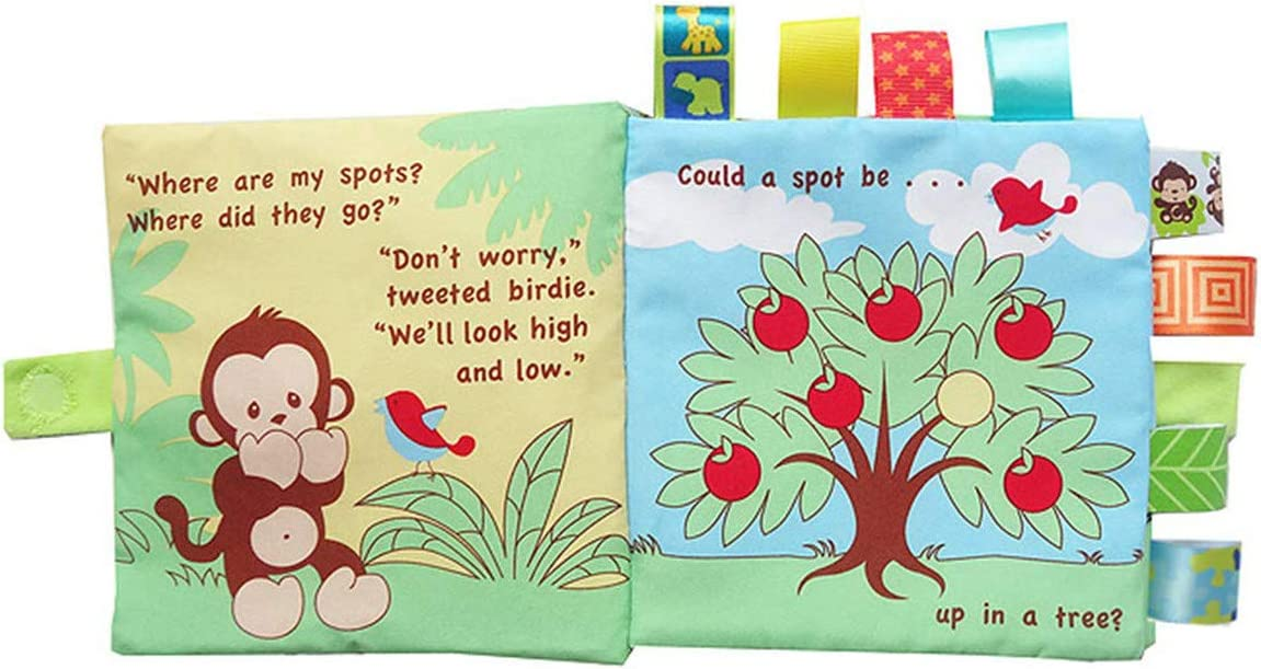 SWHRIOPD Cloth Book Baby Gift 1 Year Old Infant Educational Learning Toy