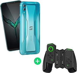 شاومي بلاك شارك 2 - هاتف للألعاب بشريحتي اتصال - 128 جيجا، وذاكرة رام 8 جيجا، الجيل الرابع ال تي اي، أزرق