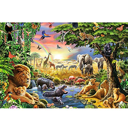 WLH- Puzzel Jungle Harmony Adult Decompression Children's Educatief speelgoed Anime Your Name (Size : 300 pc)