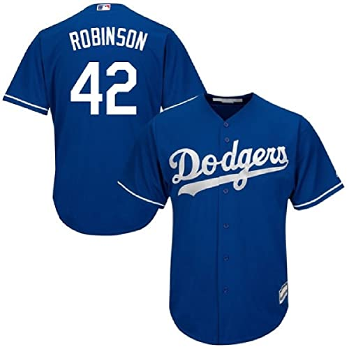 9235ec5a3 Outerstuff Jackie Robinson Brooklyn Dodgers  42 Youth Alternate Jersey Blue