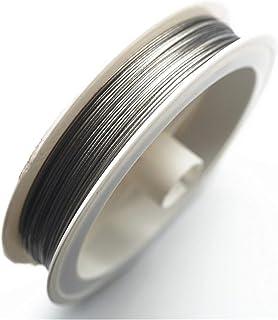 PPSM سلك مجوهرات 30 متر/لفة الفضة لهجة الديكور الأسلاك 0.3/0.35/0.45/0.5/0.6mm المغلفة الفولاذ المقاوم للصدأ سلك النمر الذ...