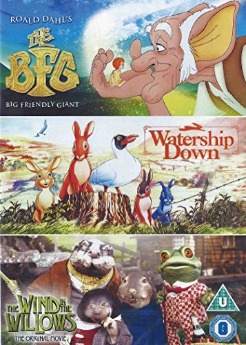 DVD3 - BFG/Watership Down/Wind In The Willows (3 DVD)
