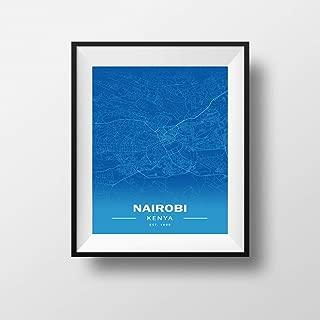 coordinates of nairobi