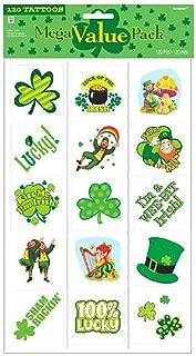 St. Patrick's Day Temporary Tattoo, 4 Pk.   Party Accessory