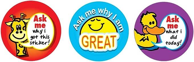 Sticker Solutions - Pack de 54 pegatinas de recompensa, diseño con ...