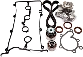 SCITOO Engine Timing Part Belt Set Timing Belt Kits, fit Ford Mazda 626 MX-6 Protege Replacement Timing Tools with Water Pump Valve Cover Gasket Kit FS