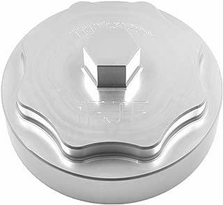 iFJF 68065612AA Fuel Filter Housing Cover Cap for 2010-2019 Dodge Ram 6.7L 2500 3500 4500 5500 Cummins Diesel Engine Billet Aluminum(Silver)