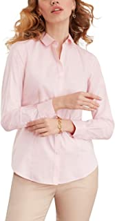 Brooks Brothers Women's Stretch Supima Cotton Dress Shirt Tailored Fit