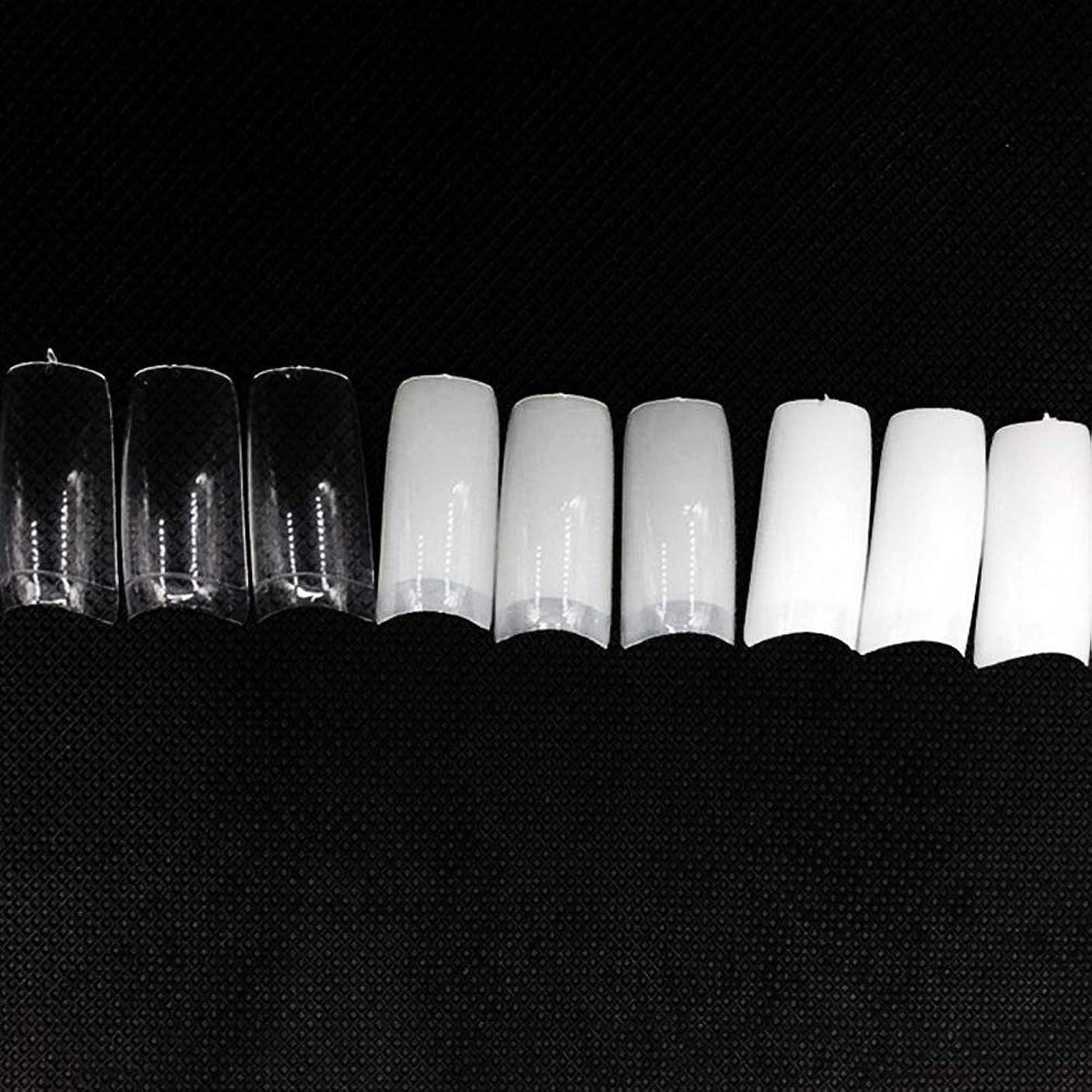 お酒便宜キャベツネイルチップ つけ爪 偽爪 無地 ロング オーバル 10サイズ デコレーション フルチップ シンプル DIY デザイン 500個/セット Moomai