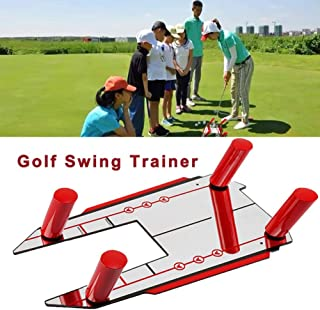 Golf Training Aid Golf Speed Trap-Unbreakable Base Golf Swing Trainer Auxiliary Swing Exercise Posture Corrective Tool Teaching Equipment