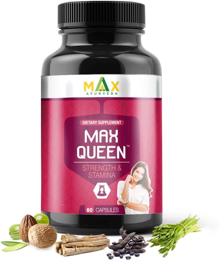 Bewo Max Ayurveda unisex Queen Plus for Women 60 Capsules Factory outlet -