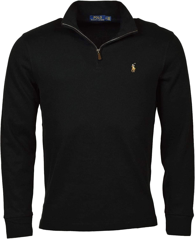 Polo Ralph Lauren Men's Estate Rib Half Zip Sweater - XXL