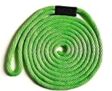 MadDogProducts Solid Braid Nylon Dock Line - Lime Green, 3/8' x 15'