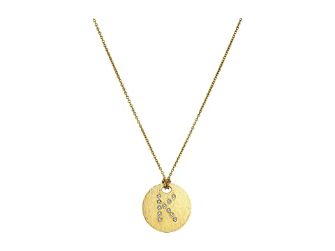 Roberto Coin Tiny Treasures 18K Yellow Gold Initial K Pendant Necklace