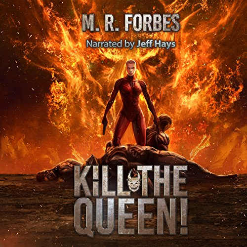 Kill the Queen! audiobook cover art