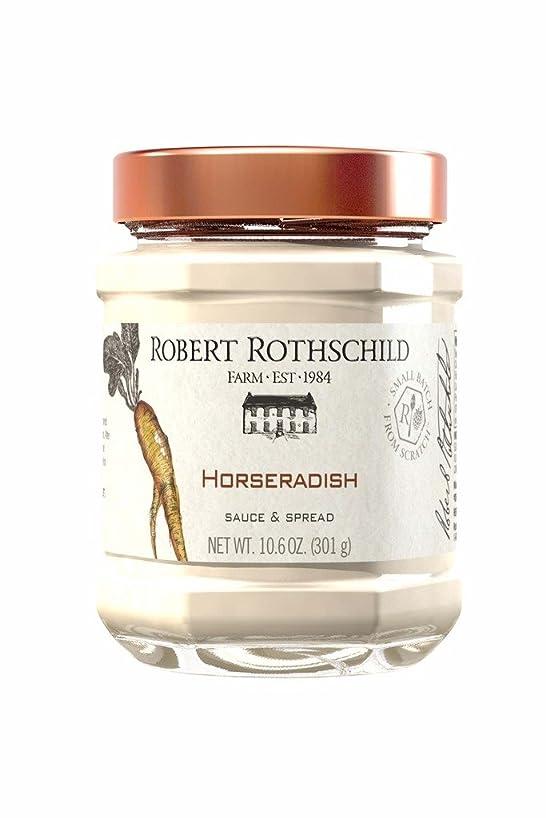 Robert Rothschild Farm Horseradish Sauce (10.6 oz) - Sauce & Dip - Sandwich Condiment - Roast Beef or Seafood Sauce - Vegetable Dip
