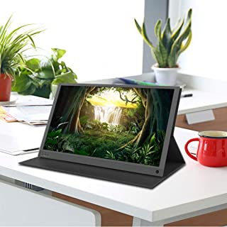 Portable Computer Monitor For Game 15.6 Inch Full HD 1080P HDR 178° Full viewing Smart Connect with Phone, PS4, Switch, Ot...