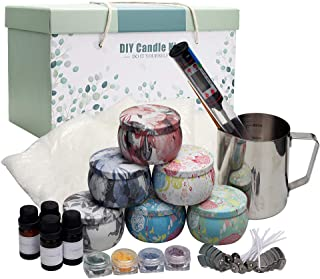 YINUO LIGHT Scented Candle Making Kit DIY Gift Set