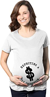 Maternity Tax Deduction Funny Im Pregnant Tee Hilarious Announce Pregnancy T Shirt