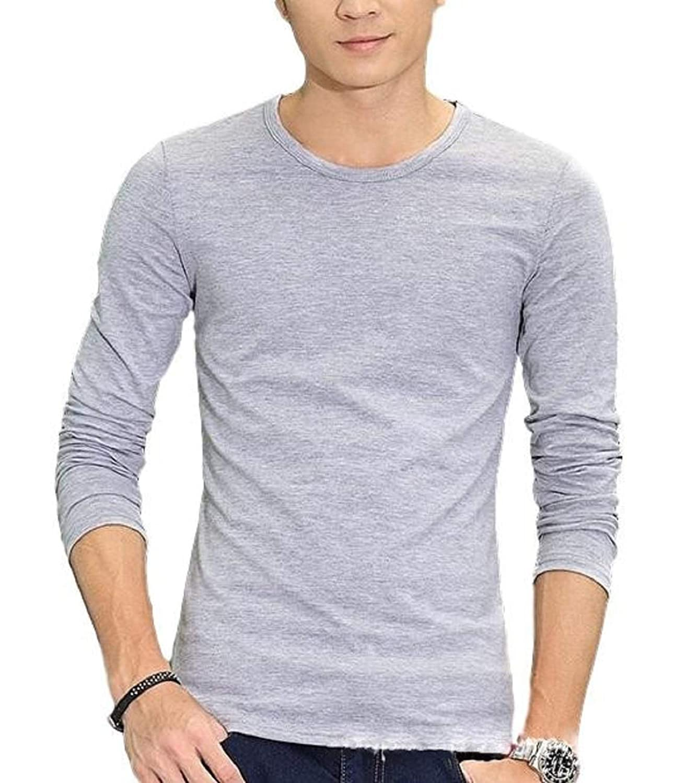 [ラルジュアルブル] カットソー Tシャツ ロンT 長袖 インナー アウター かっこいい シンプル カジュアル スポーツ トップス