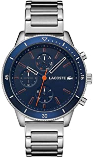 Lacoste Men'S Navy Dial Stainless Steel Watch - 2010995