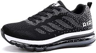 Monrinda Unisex Zapatillas de Deporte Mujer Deportivo Zapatos para Correr Hombre Runing Sports Trainers Gimnasio Air Cushion