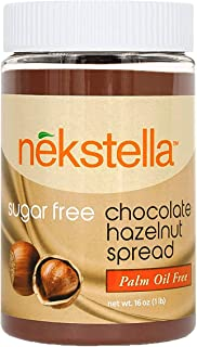 Nekstella Classic - Sugar Free Low Carb Natural Chocolate Hazelnut Spread - Palm Oil Free 16 oz jar