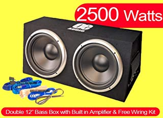 20 cm // 200 mm Mini//Compact Car Subwoofer//Bass Box 300 Watt Max T5-GZIW200X-II Mediadox//Ground Zero