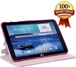Verizon LG G Pad 10.1 Folio Case - Premium PU Leather With Auto Sleep / Wake Feature for LG G Pad V700 / VK700 Verizon 10.1-Inch Tablet