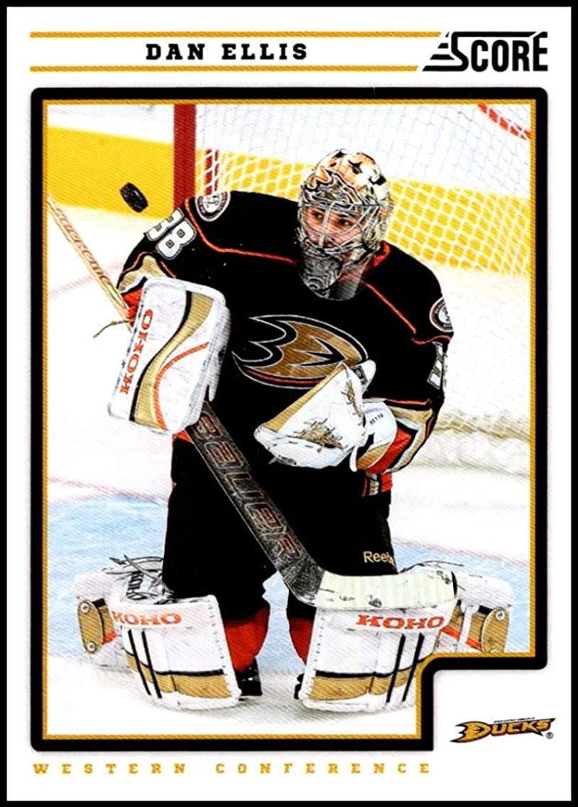 2012-13 Panini Score #54 Dan Ellis NM-MT Anaheim Ducks Officially Licensed NHL Hockey Trading Card