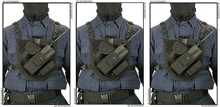 BLACKHAWK! Patrol Radio Chest Harness (Pack of 3)