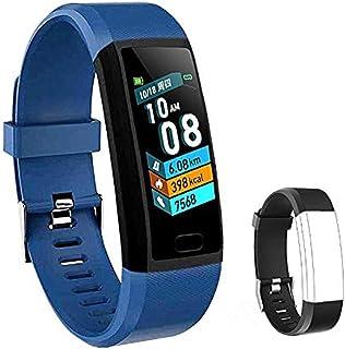 comprar comparacion LIYINGKEJI Pulsera de Actividad, smartwatch, Monitor de frecuencia cardíaca y Reloj Deportivo de presión Arterial Reloj In...