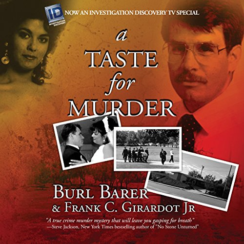 A Taste for Murder audiobook cover art